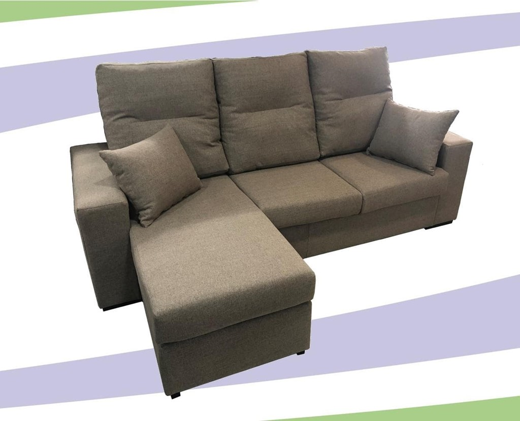 Foto 1 SOFA CHAISELONGE REVERSIBLE MOD.RAQ.