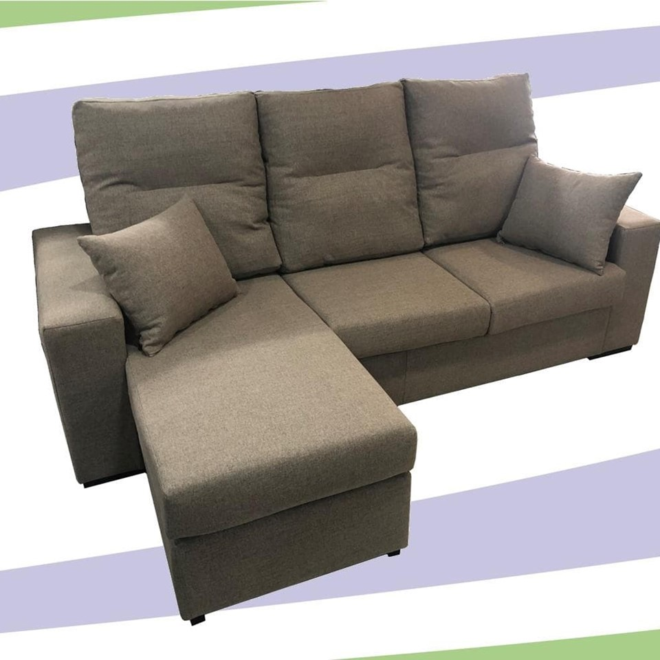 SOFA CHAISELONGE REVERSIBLE MOD.RAQ.