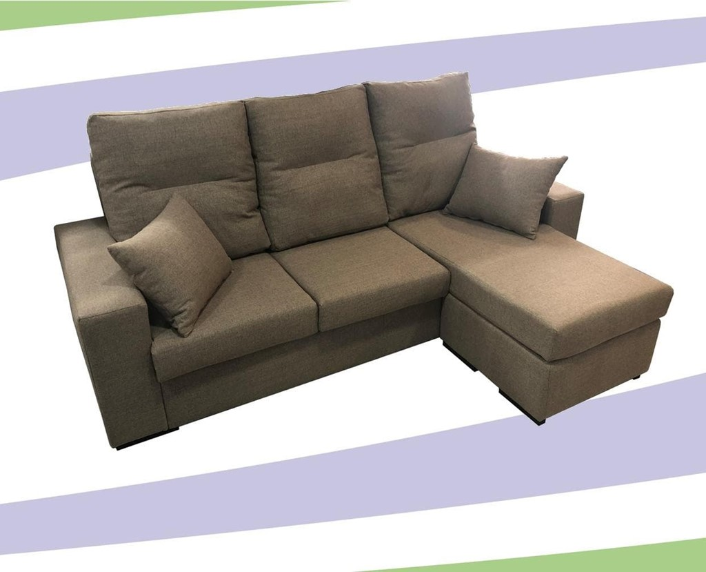 Foto 2 SOFA CHAISELONGE REVERSIBLE MOD.RAQ.